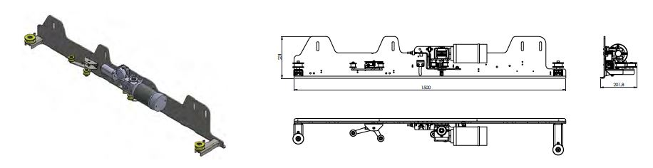 Electric Sliding Door System Crafter Sprinter